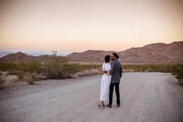 Amazing Vintage Joshua Tree Camping Wedding – Someplace Images 13