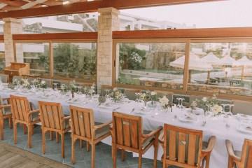 Boho Greek Island Wedding Featuring A Circle Floral Arch – Paulina Weddings 39