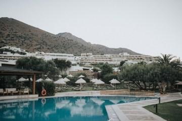 Boho Greek Island Wedding Featuring A Circle Floral Arch – Paulina Weddings 45