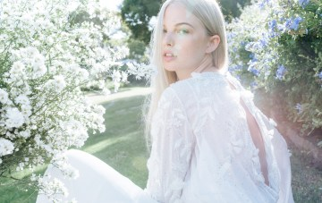 Ethereal Garden Wedding Inspiration With Ultra-Cool Wedding Dresses