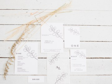 Funky & Creative All White Wedding Inspiration – The Vintage House That Could 10