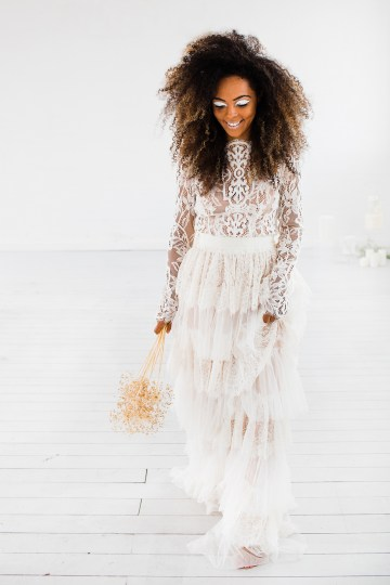 Funky & Creative All White Wedding Inspiration – The Vintage House That Could 30