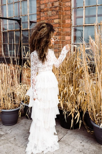 Funky & Creative All White Wedding Inspiration – The Vintage House That Could 32