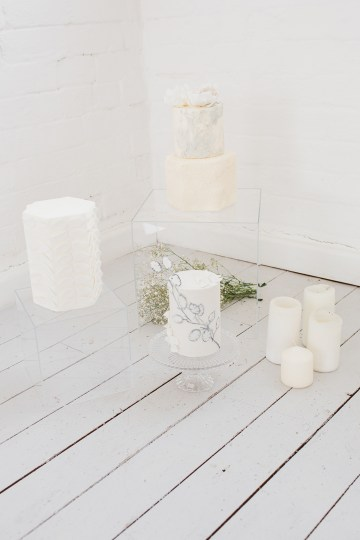Funky & Creative All White Wedding Inspiration – The Vintage House That Could 39