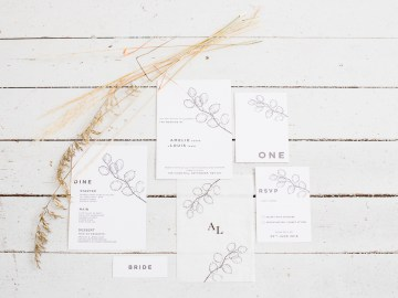 Funky & Creative All White Wedding Inspiration – The Vintage House That Could 9
