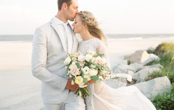 Intimate Charleston Boho Beach Wedding