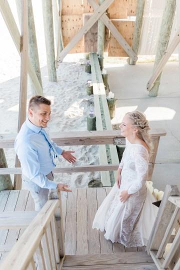 Intimate Southern Boho Beach Wedding in Charleston – Ava Moore Photography 42