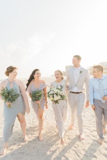 Intimate Southern Boho Beach Wedding in Charleston – Ava Moore Photography 49