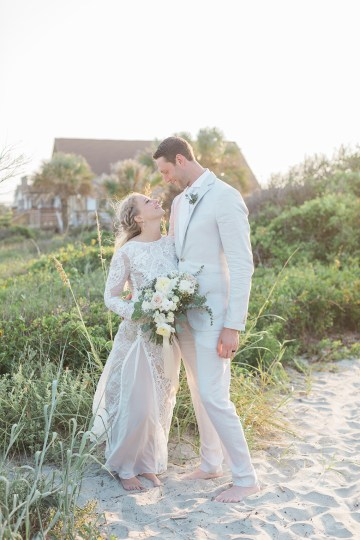 Intimate Southern Boho Beach Wedding in Charleston – Ava Moore Photography 50