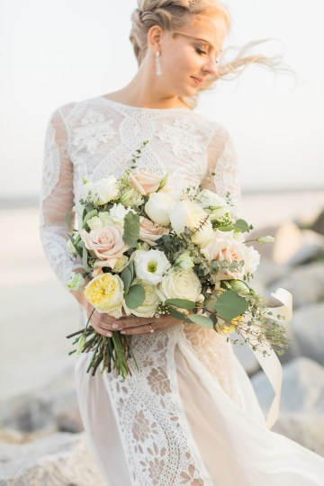 Intimate Southern Boho Beach Wedding in Charleston – Ava Moore Photography 52