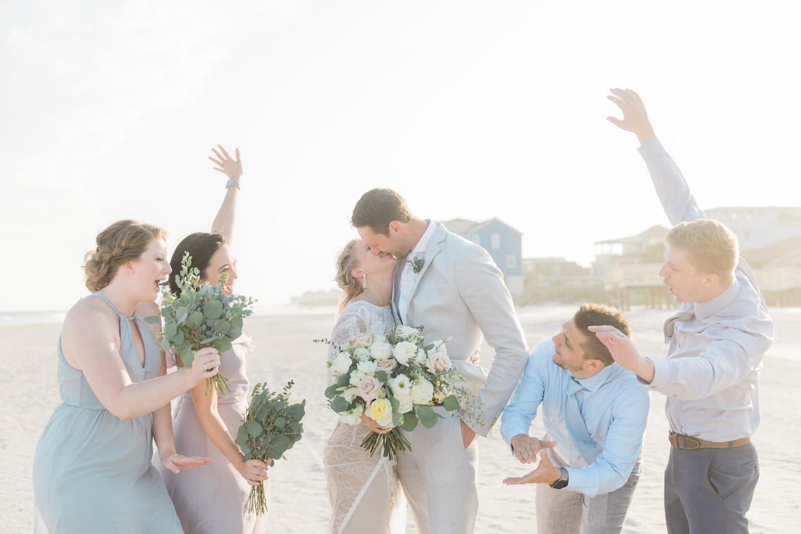 Intimate Southern Boho Beach Wedding in Charleston – Ava Moore Photography 6