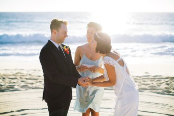 Real Bride Diary – Wildly Fun and Intimate Baja Beach Wedding of Claire Eliza and Jack – Corinne Graves 11