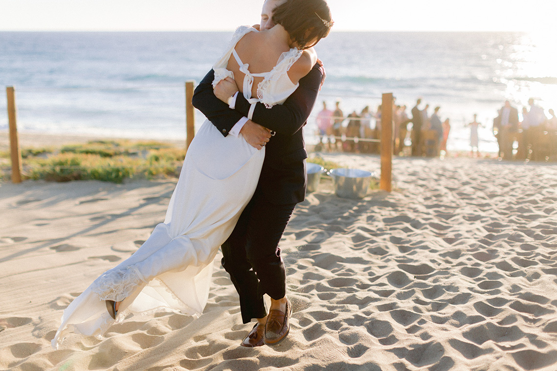Real Bride Diary – Wildly Fun and Intimate Baja Beach Wedding of Claire Eliza and Jack – Corinne Graves 15