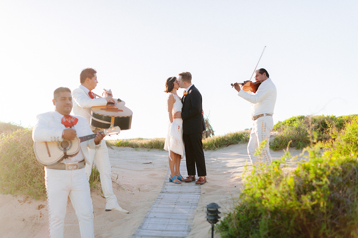 Real Bride Diary – Wildly Fun and Intimate Baja Beach Wedding of Claire Eliza and Jack – Corinne Graves 21