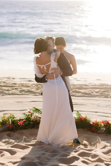 Real Bride Diary – Wildly Fun and Intimate Baja Beach Wedding of Claire Eliza and Jack – Corinne Graves 63