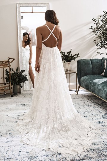 10 Reasons You Should Shop for Your Wedding Dress at The Grace Loves Lace NYC Boutique – Megan Gown 1