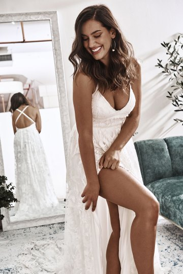 10 Reasons You Should Shop for Your Wedding Dress at The Grace Loves Lace NYC Boutique – Megan Gown 6