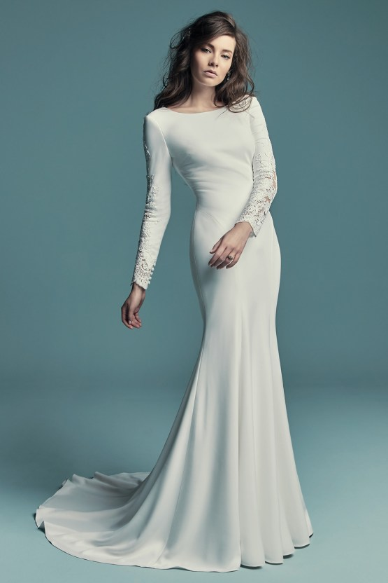 Dream Maggie Sottero Long Sleeve Wedding Dresses – Maggie Sottero Olyssia 1