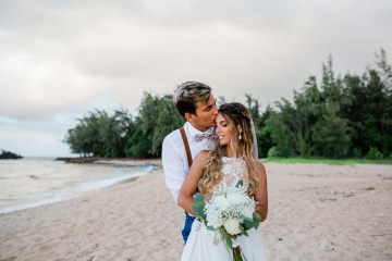 Playful and Intimate North Shore Oahu Beach Wedding – Chelsea Stratso Photography 7