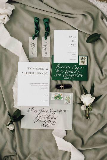 Romantic Same Sex Beach Elopement Inspiration in Earth Tones – Kalon Weddings Photography – Chloe Nicole Weddings 11