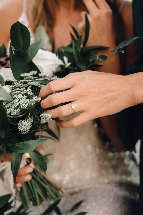 Romantic Same Sex Beach Elopement Inspiration in Earth Tones – Kalon Weddings Photography – Chloe Nicole Weddings 25