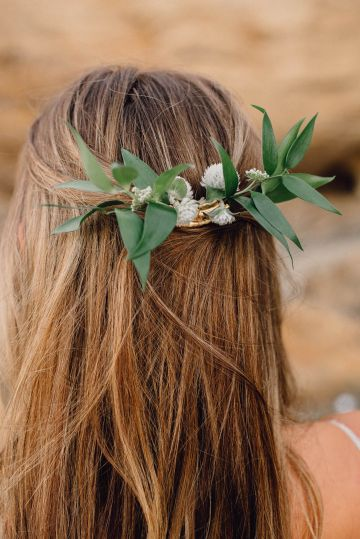 Romantic Same Sex Beach Elopement Inspiration in Earth Tones – Kalon Weddings Photography – Chloe Nicole Weddings 29