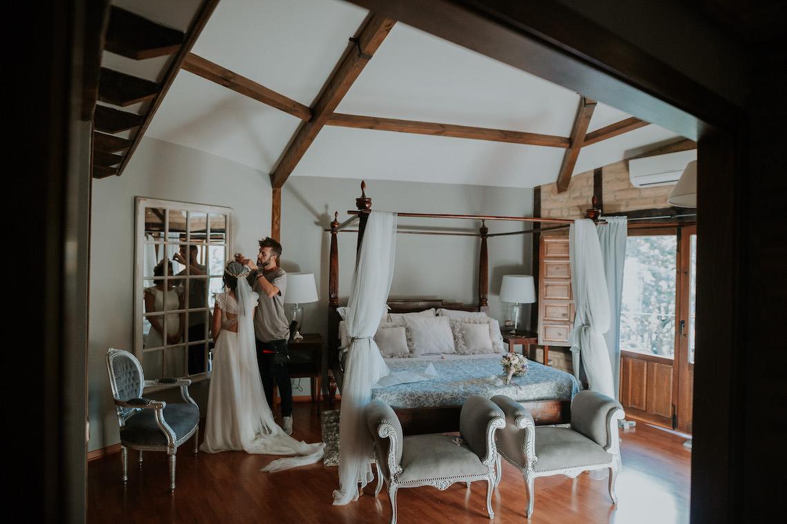 Romantic and Fashionable Spanish Boho Wedding – Javier Berenguer 4