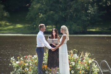 Wildflower Elopement In The Middle Of A Lake – White Poppy Weddings 2
