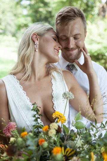 Wildflower Elopement In The Middle Of A Lake – White Poppy Weddings 23