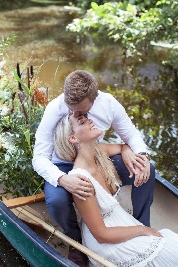 Wildflower Elopement In The Middle Of A Lake – White Poppy Weddings 27