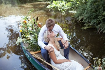 Wildflower Elopement In The Middle Of A Lake – White Poppy Weddings 6