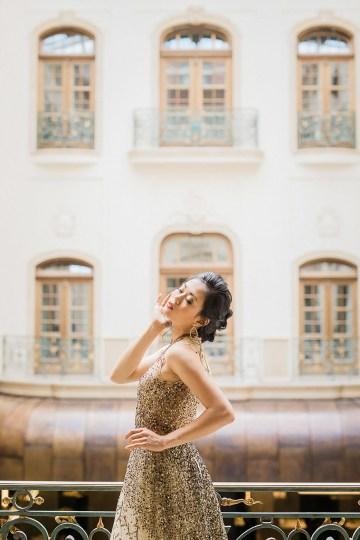 A Dramatic Gold Wedding Dress for the Goddess Bride – Vivid Symphony 19