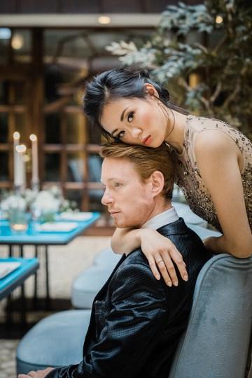 A Dramatic Gold Wedding Dress for the Goddess Bride – Vivid Symphony 29