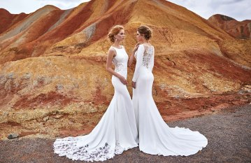 Affordable and Absolutely Showstopping Wedding and Bridesmaid Dresses By CocoMelody – Classic Collection 5