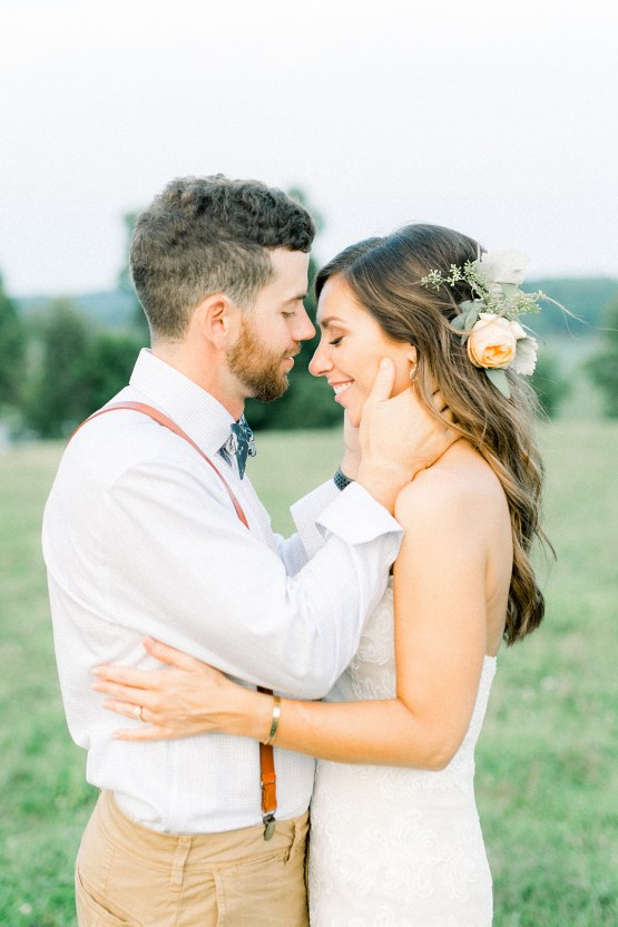 Eclectic Detail-filled Ohio Farm Wedding with a Donut Wall and Espresso Cart – Mandy Ford Photography 41