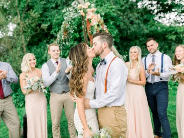 Eclectic Detail-filled Ohio Farm Wedding with a Donut Wall and Espresso Cart – Mandy Ford Photography 8