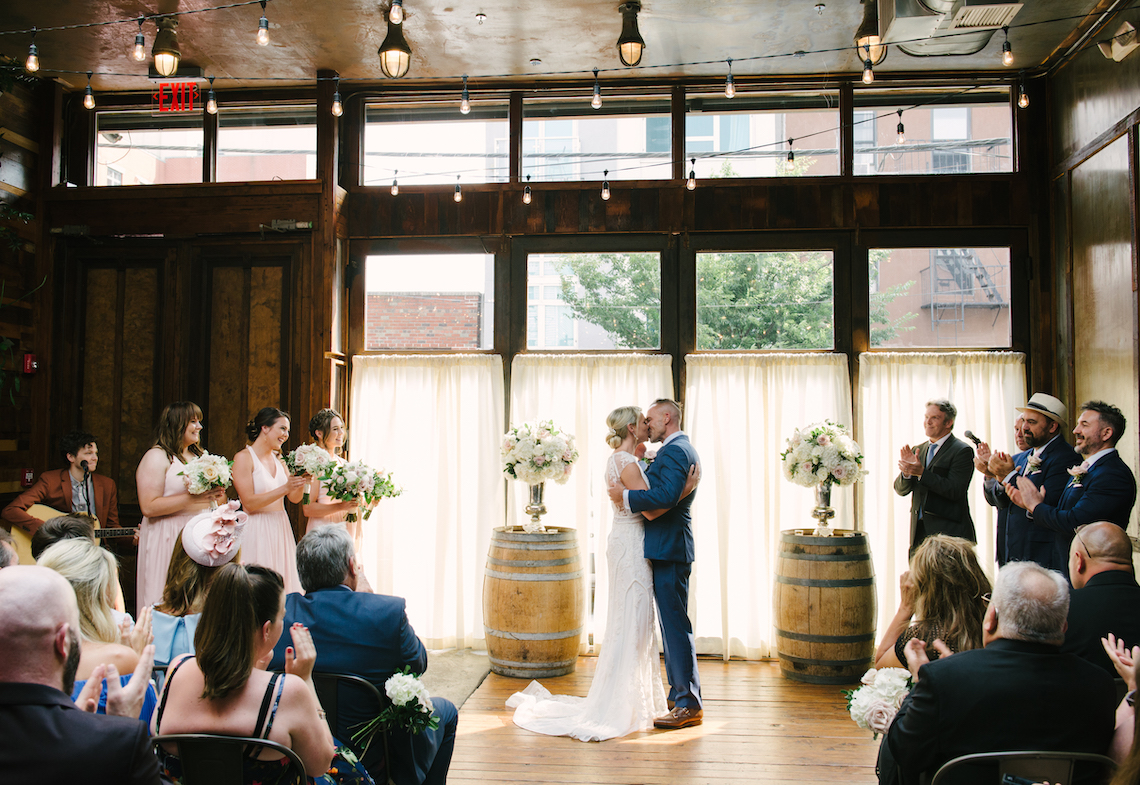 Industrial Chic Brooklyn Winery Wedding – Williamsburg Photo Studios 8