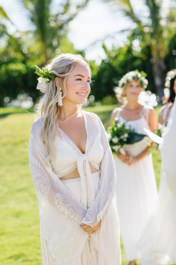 Relaxed Hawaiian Beach Wedding With Our Dream Rue De Seine Boho Wedding Dress – Absolutely Loved Photography 24