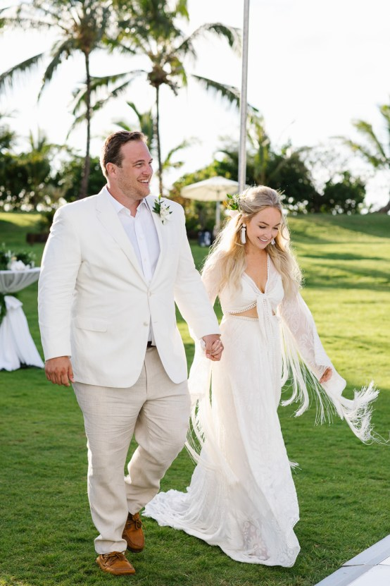 Relaxed Hawaiian Beach Wedding With Our Dream Rue De Seine Boho Wedding Dress – Absolutely Loved Photography 28