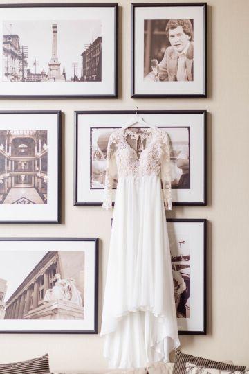 Beautiful Burgundy Hindu Fusion Wedding – Danielle Harris Photography 12