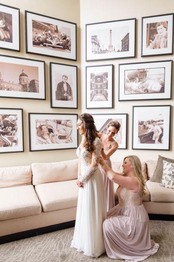 Beautiful Burgundy Hindu Fusion Wedding – Danielle Harris Photography 16