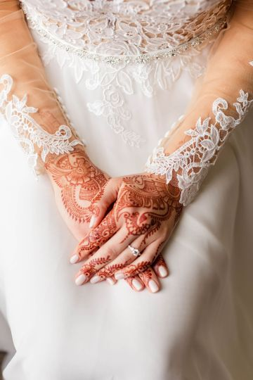 Beautiful Burgundy Hindu Fusion Wedding – Danielle Harris Photography 18