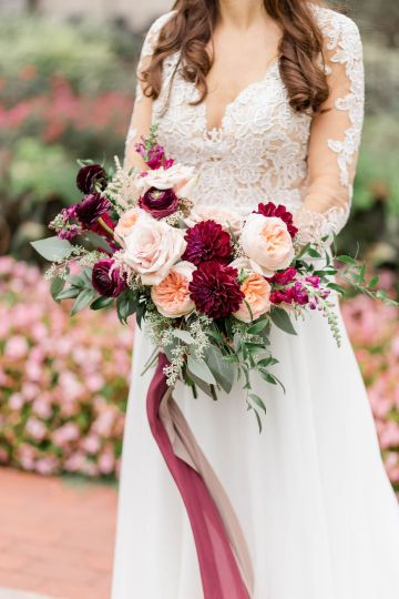 Beautiful Burgundy Hindu Fusion Wedding – Danielle Harris Photography 23