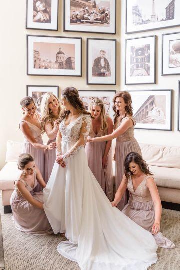 Beautiful Burgundy Hindu Fusion Wedding – Danielle Harris Photography 28