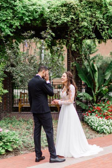 Beautiful Burgundy Hindu Fusion Wedding – Danielle Harris Photography 30