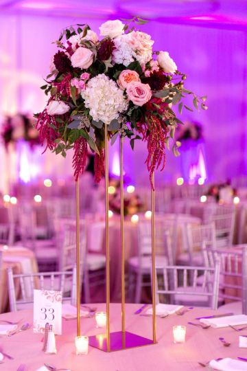 Beautiful Burgundy Hindu Fusion Wedding – Danielle Harris Photography 53