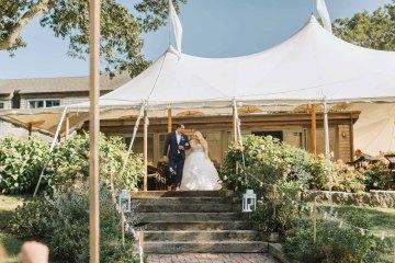 Cheery Marthas Vineyard Summer Wedding – Lena Mirisola Weddings 57