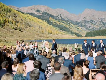 Colorful Colorado Wedding with Stunning Mountain Views – Callie Hobbs – Banks and Leaf 1