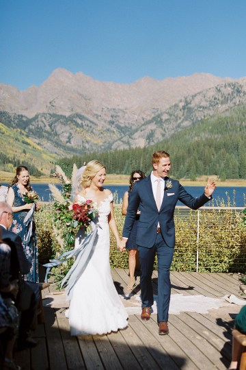 Colorful Colorado Wedding with Stunning Mountain Views – Callie Hobbs – Banks and Leaf 23