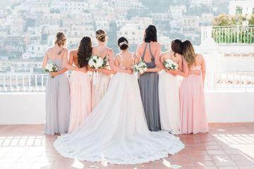Dramatic Breathtaking Positano Destination Wedding – Lace and Luce Photography 1